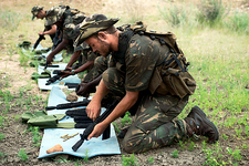 Anti-poaching ranger training