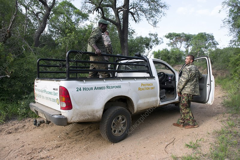 Anti-poaching rangers, South Africa