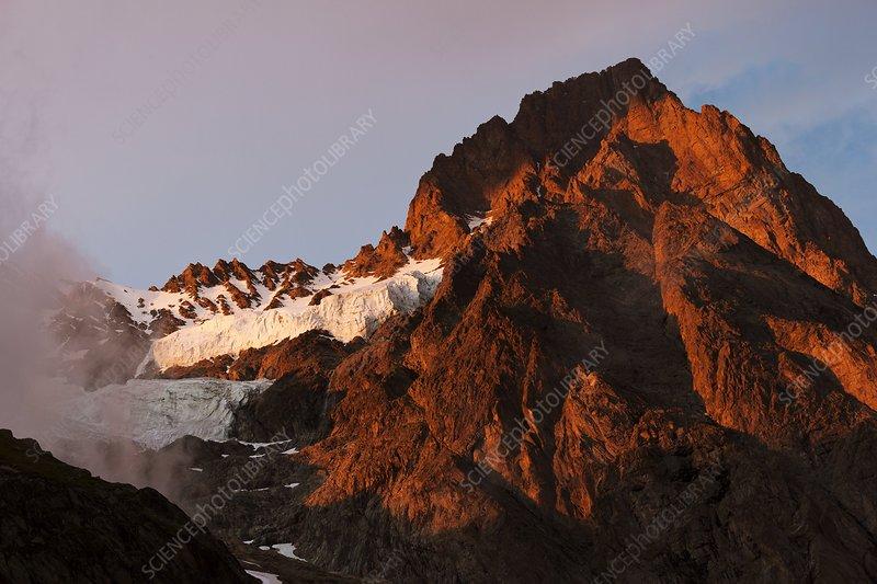 Schreckhorn mountain, Switzerland