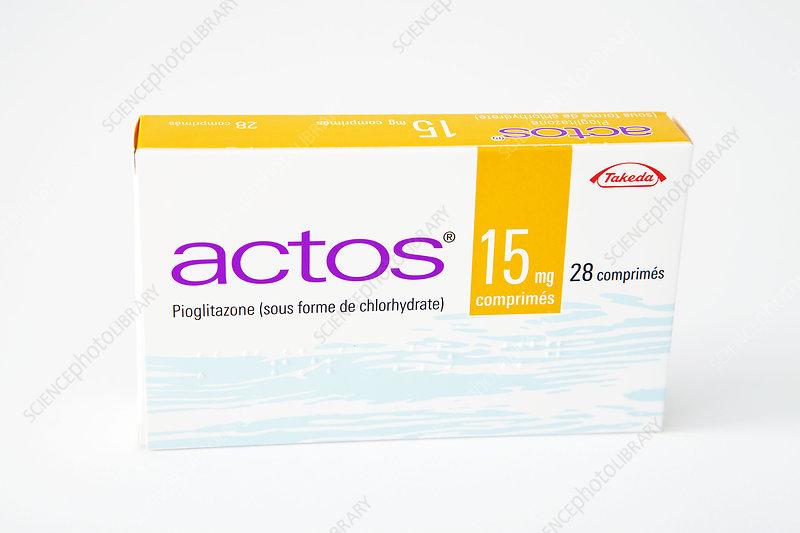 Pioglitazone diabetes drug
