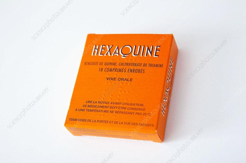 Quinine malaria drug