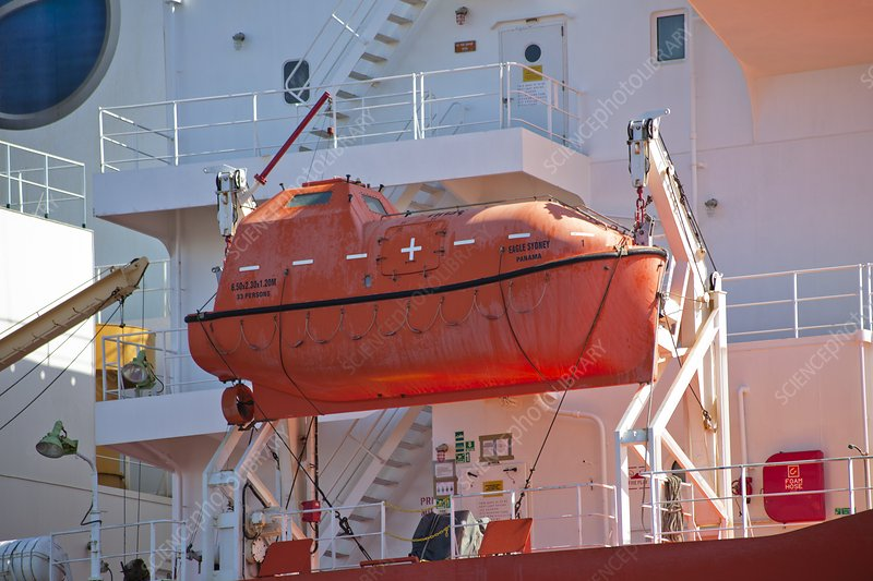 Shipboard lifeboat