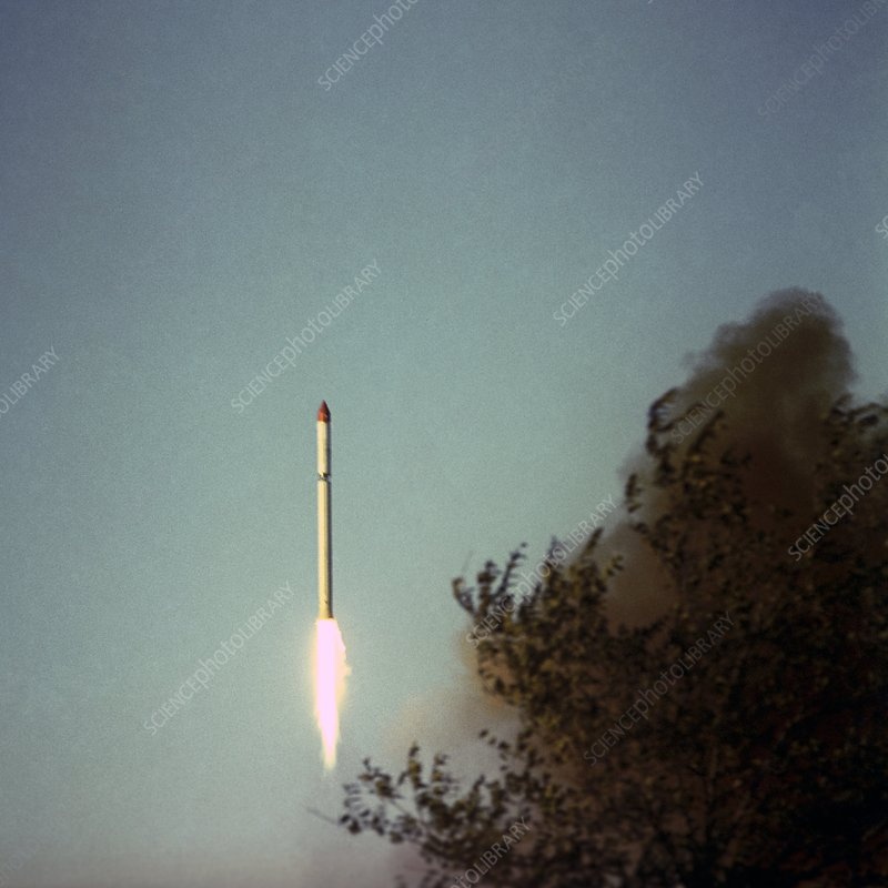 Launch of Intercosmos-1