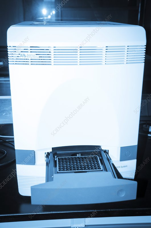 Real-time PCR machine - Stock Image - C015/3446 - Science