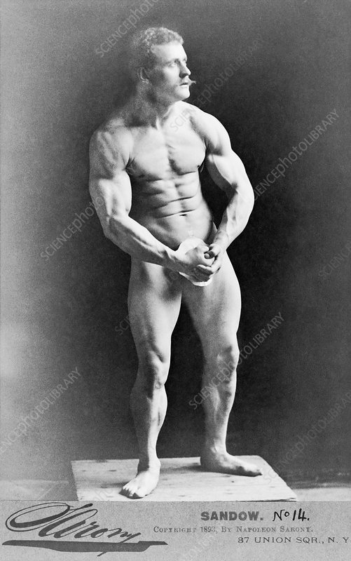 Eugene Sandow, Prussian strongman