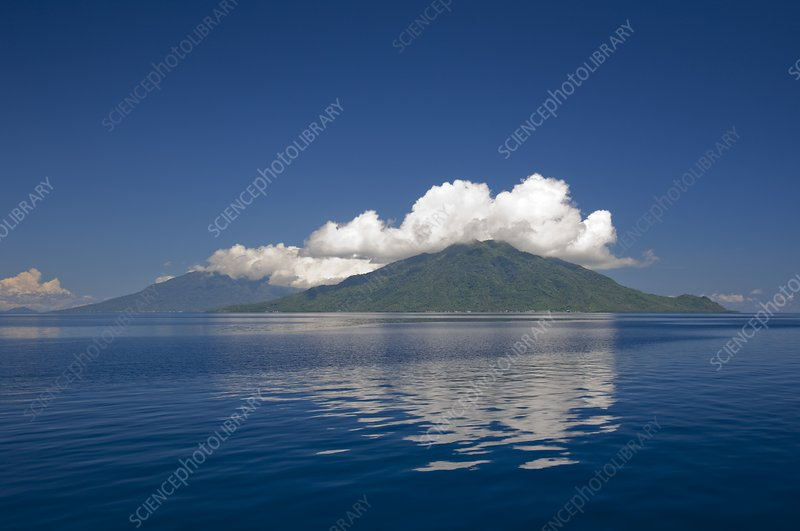 One of the Maluku islands in Indonesia