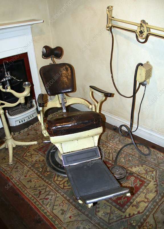 1960s Dentist Chair Stock Image C015 3934 Science