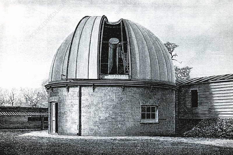Lassell Dome at Greenwich, 19th century
