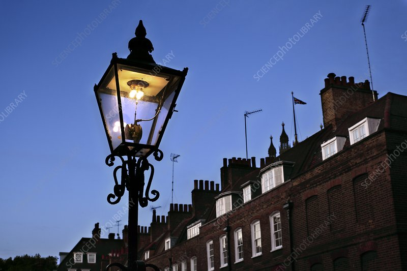 Gas lamp,London, UK