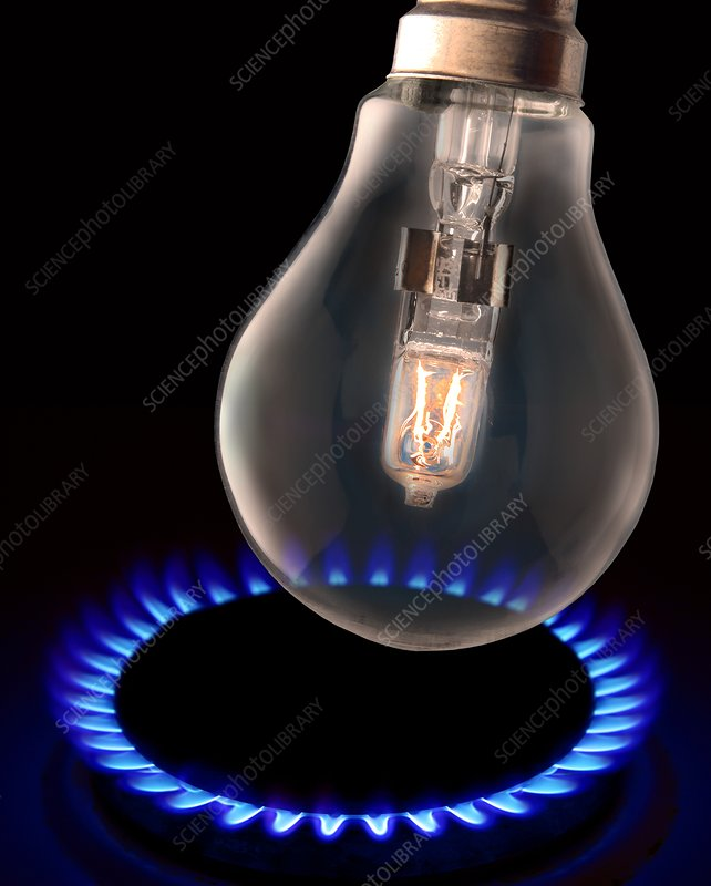 Energy use, conceptual image