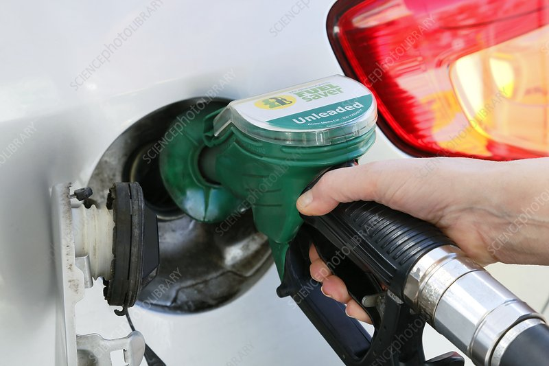 Filling car petrol tank