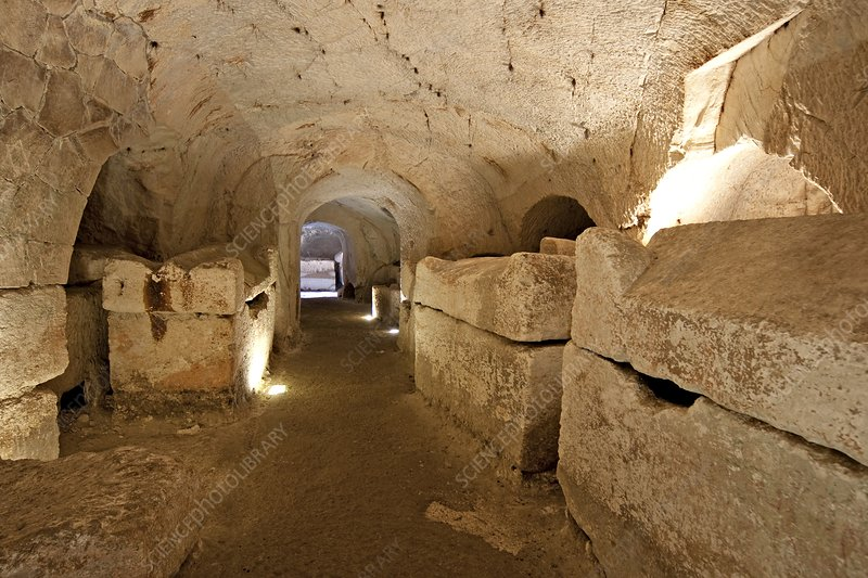 Interior of a Catacomb