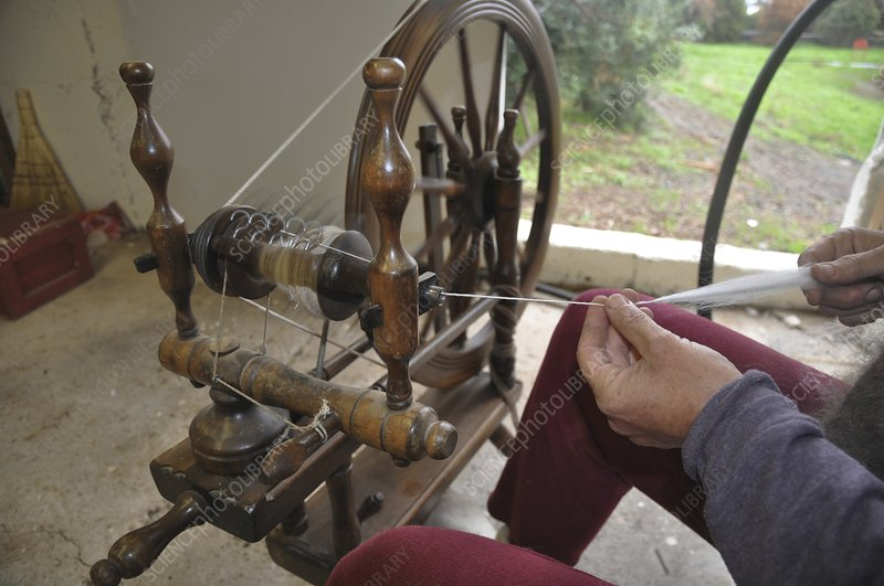 Wool Spinning Wheel