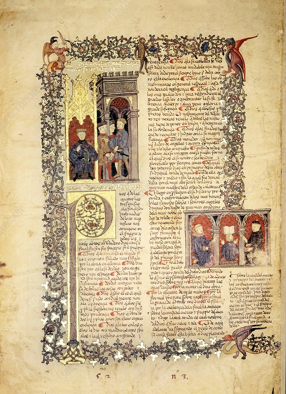 Alba Bible introduction, 15th century