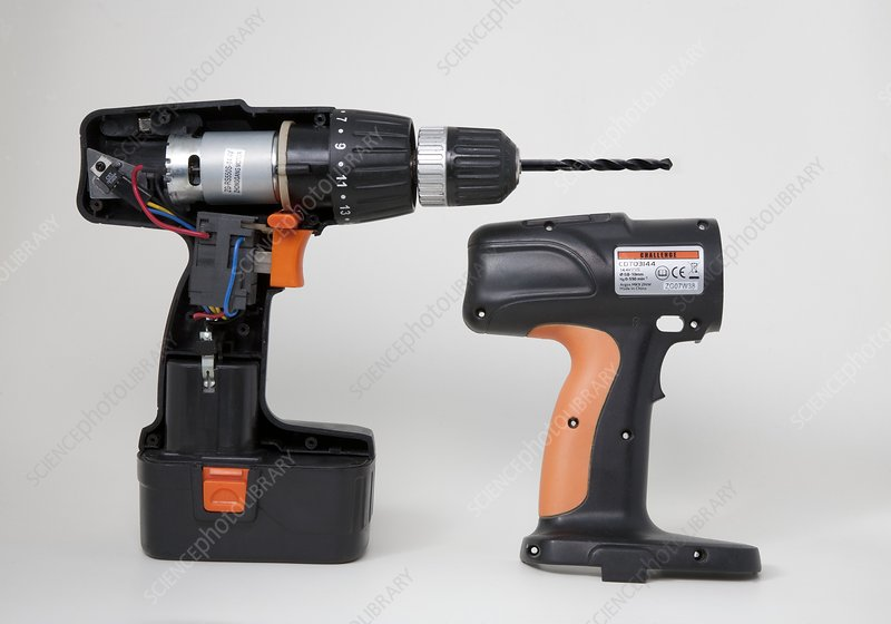 Cordless Drill Components