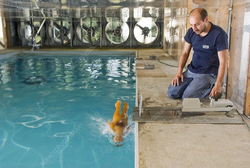 Swimming pool safety testing
