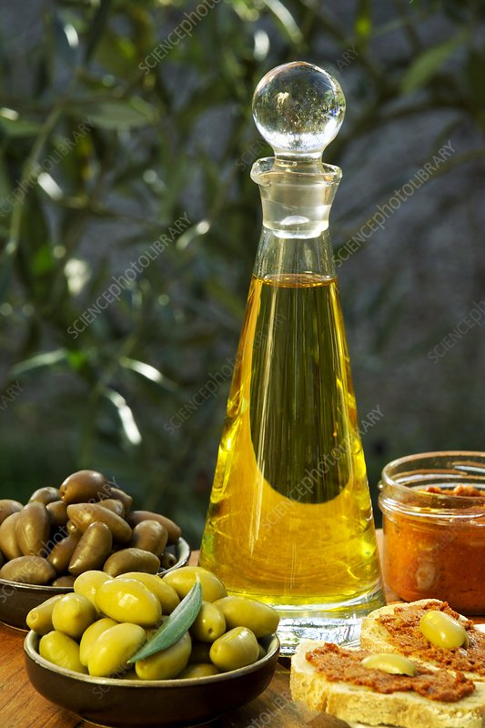 Olives and their products