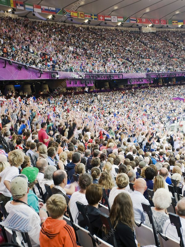 Paralympics crowds