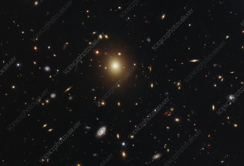 Galaxy cluster Abell 2261, HST image