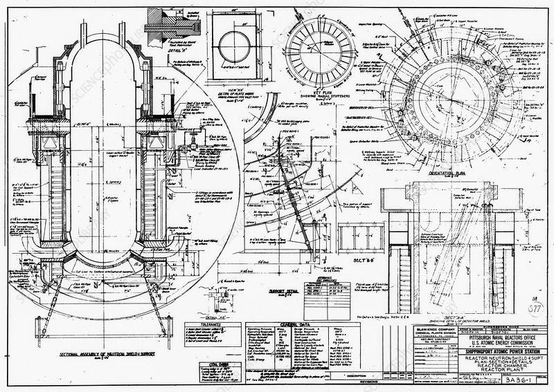 nuclear power plant components, diagram - stock image - c015/5231 - science  photo library
