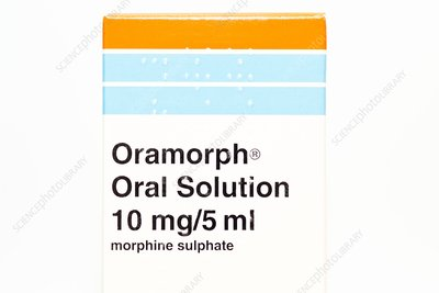Oramorph morphine solution