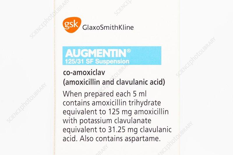Generic antibiotic augmentin