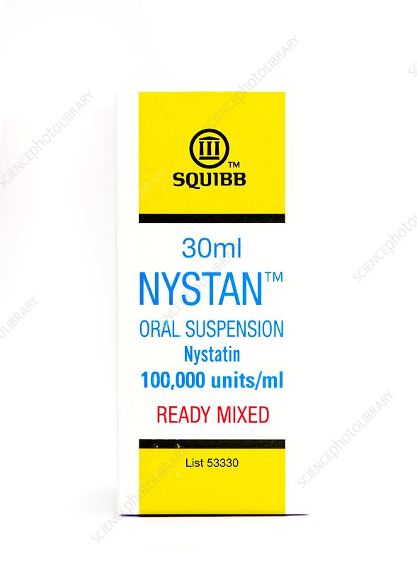 Nystan antifungal medication