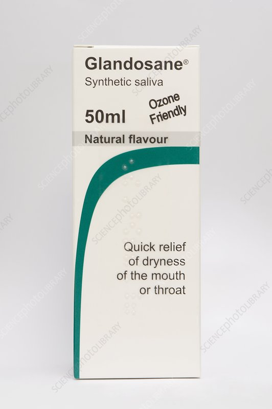 Synthetic saliva spray