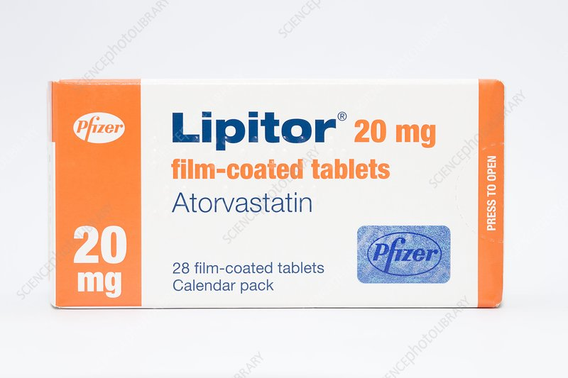 Lipitor cholesterol lowering drug