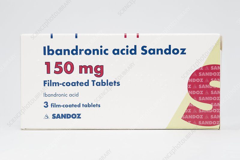 Ibandronic acid osteoporosis drug