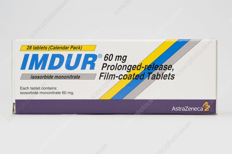 Isosorbide angina drug