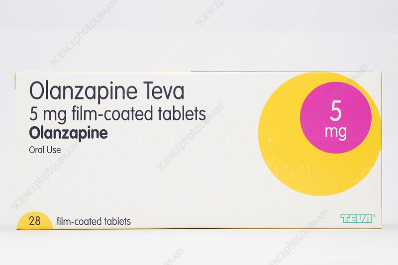 Olanzapine antipsychotic drug