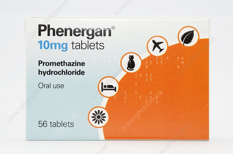 Promethazine antihistamine drug