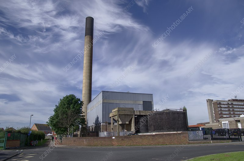 Clinical incinerator, Stockton-on-Tees