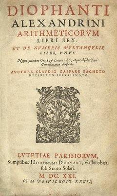 Arithmetica by Diophantus of Alexandria