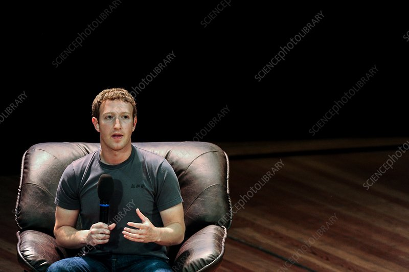 Mark Zuckerberg, co-founder of Facebook
