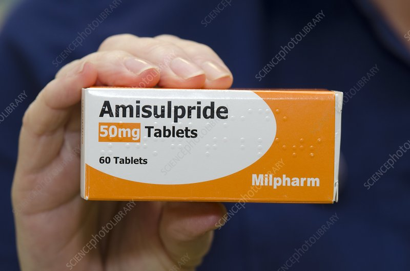 Pack of Amisulpride tablets