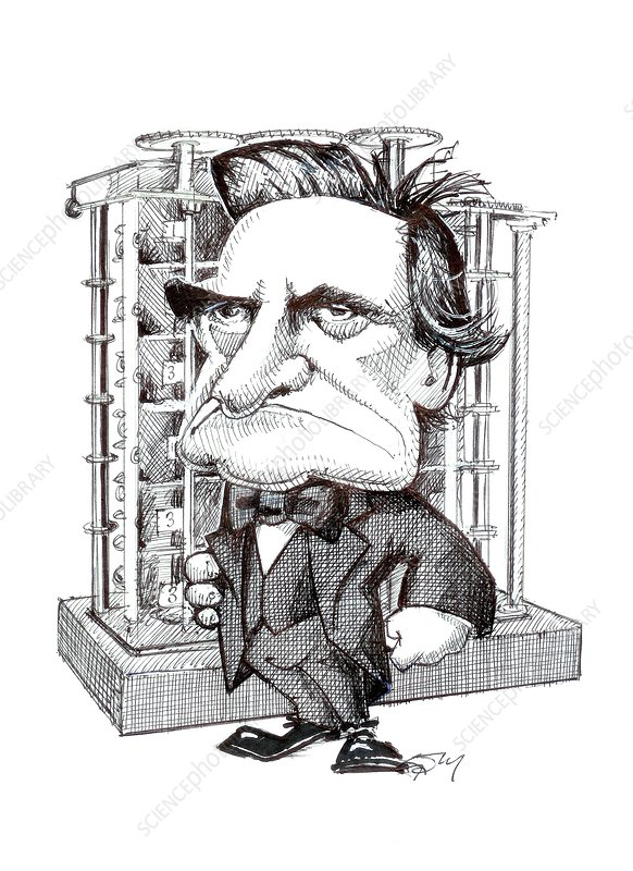 Charles Babbage, caricature