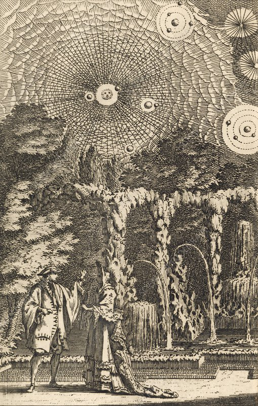 Plurality of Worlds by Fontenelle, 1686