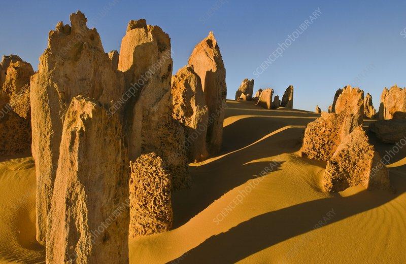 Limestone pinnacle, Western Australia