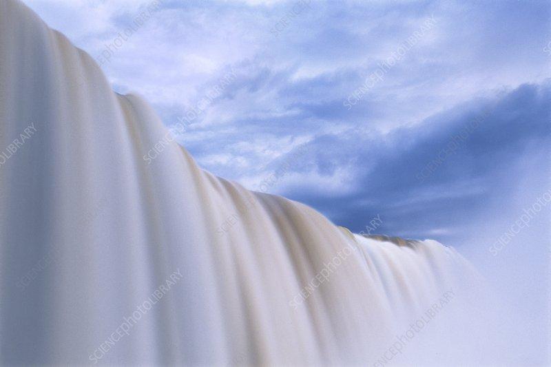 Falling water, Iguacu Brazil