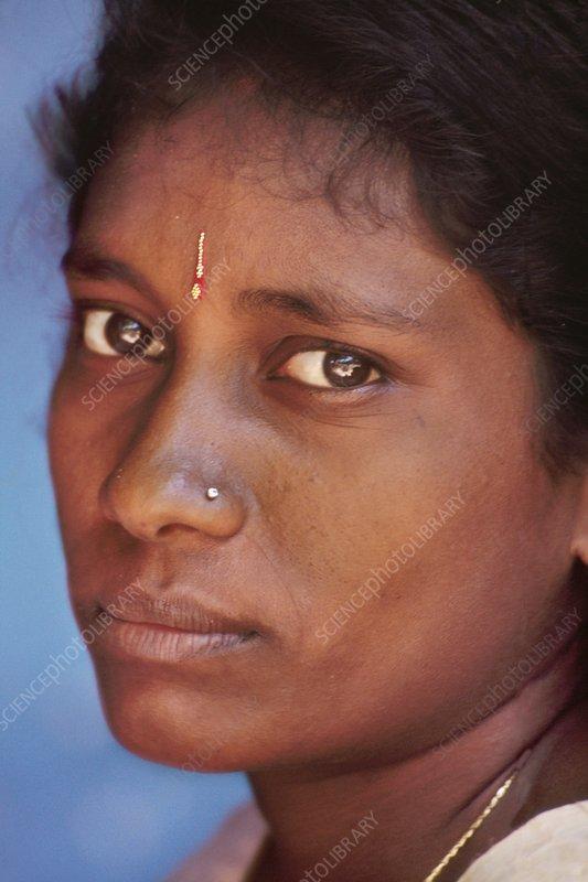 Young Hindu woman, India
