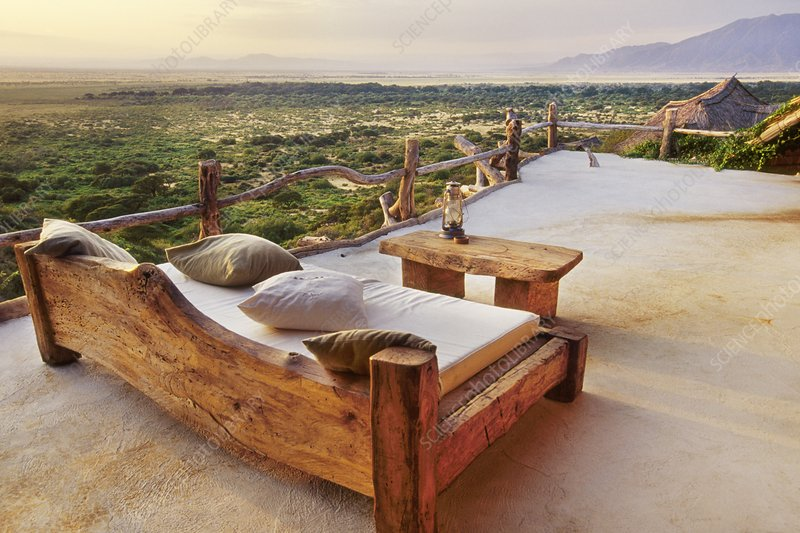 View from terrace of Great Rift Valley