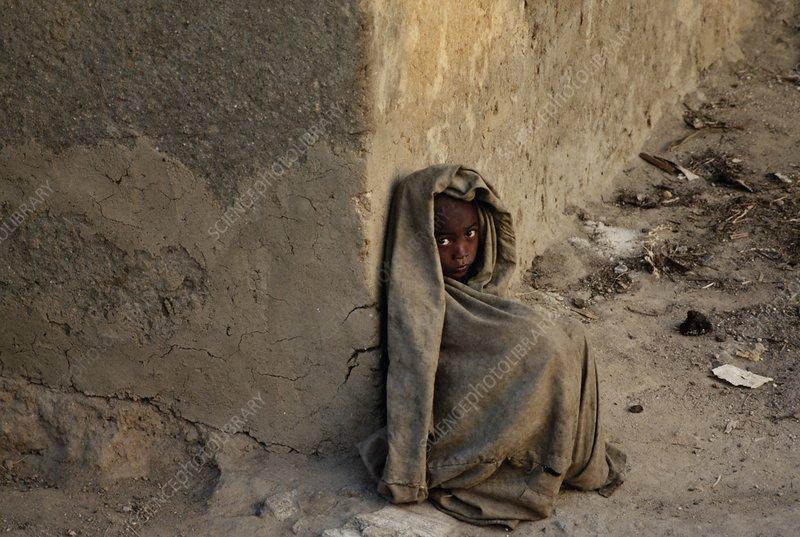 Homeless child, Antananarivo