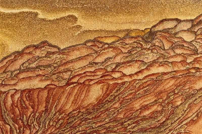 Sandstone pattern, rocks in Utah, USA