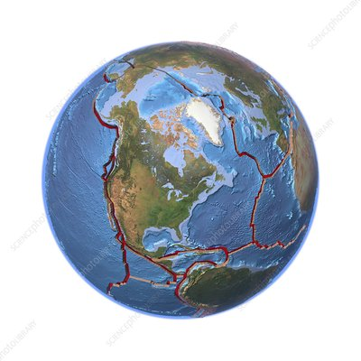 Global tectonics, North American Plate