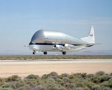 Super Guppy Turbine cargo aircraft