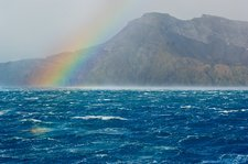 Rainbow, South Georgia Island