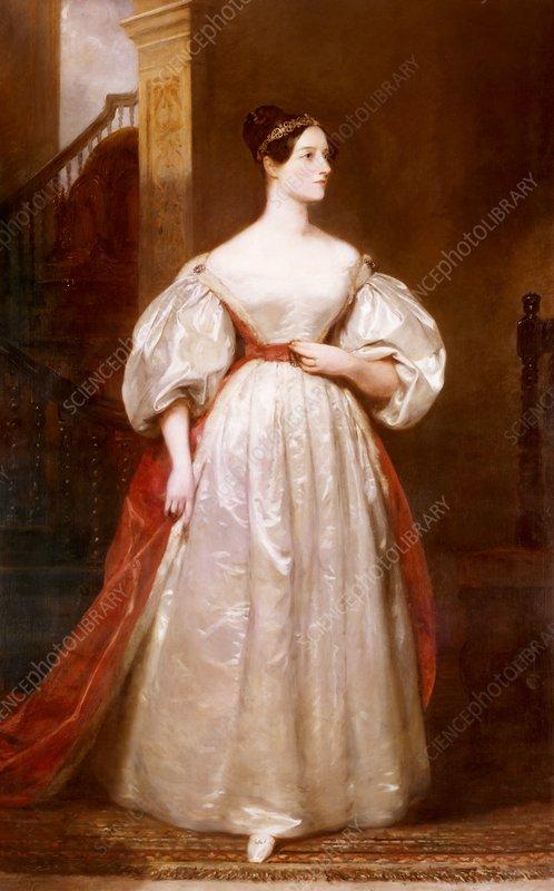 Ada Lovelace, British computer pioneer