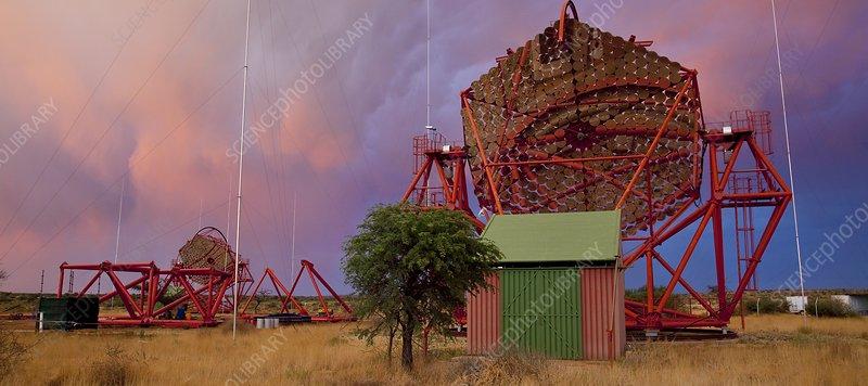 HESS gamma ray telescope, Namibia